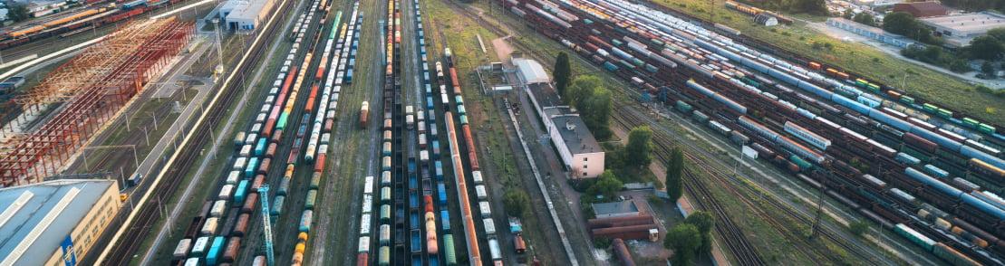 Overhead of Trainyard
